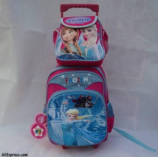 mochila e lancheira
