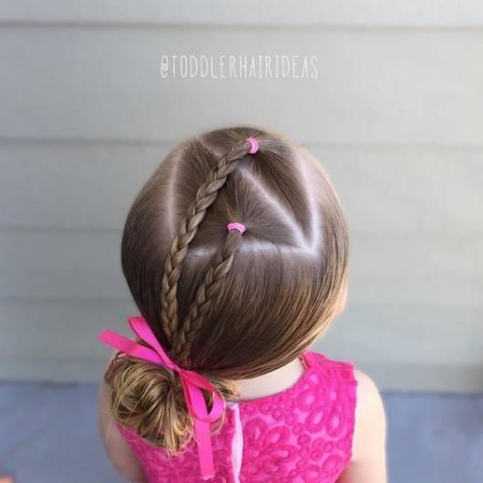 penteado com trancinhas
