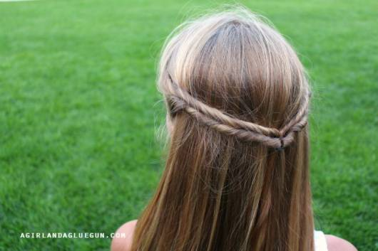 penteado para escola