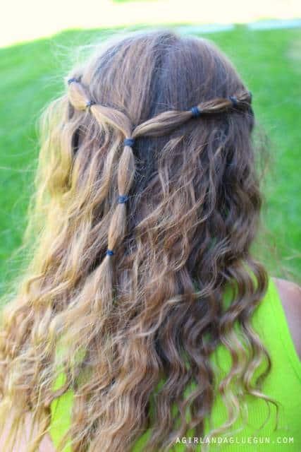 penteado princesa cabelo cacheado