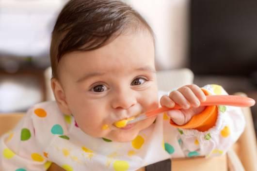 dieta com papinha de frutas para bebês