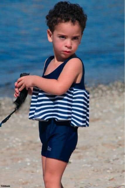 boia de vestir menino