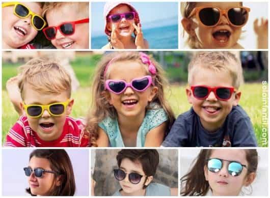4c98a91be Óculos de Sol Infantil – 57 Modelos Adoráveis para Meninas e Meninos!