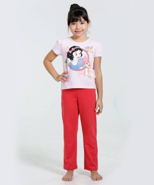 Pijama Disney Infantil branca de neve