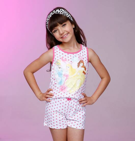 Pijama Disney Infantil princesas