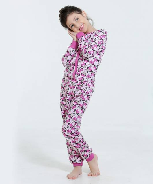 Pijama Disney Infantil macaquito feminino