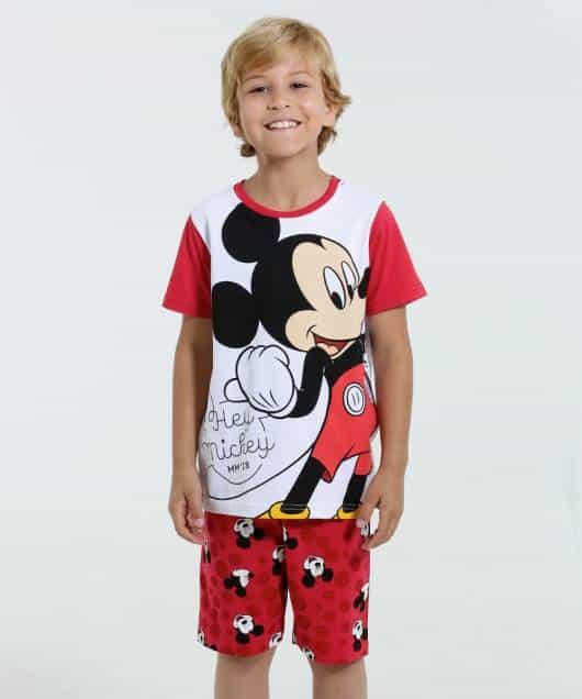 Pijama Disney Infantil para menino mickey