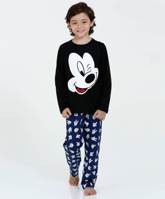 Pijama Disney Infantil com calça para menino