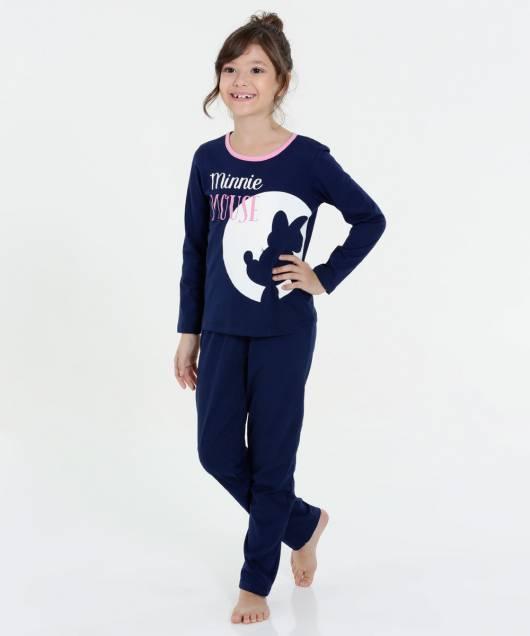 Pijama Disney Infantil do mickey para meninas