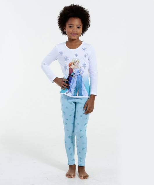 Pijama Disney Infantil frozen