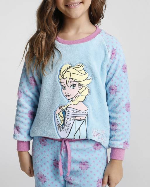 Pijama Disney Infantil da Elsa