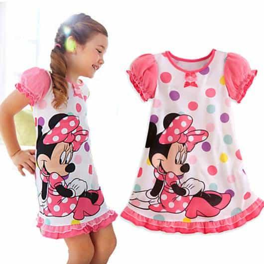 Pijama Disney Infantil da Minnie