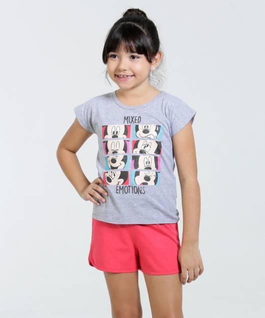 Pijama Disney Infantil de 5 a 7 anos