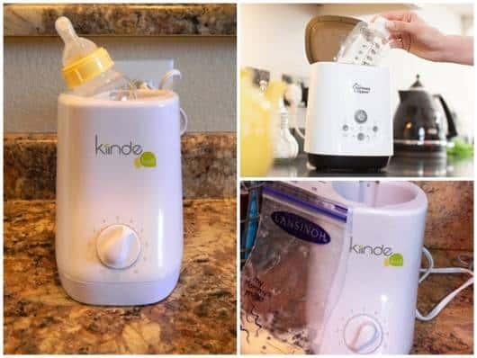 máquina de descogelar leite