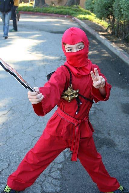Ninjago vermelho
