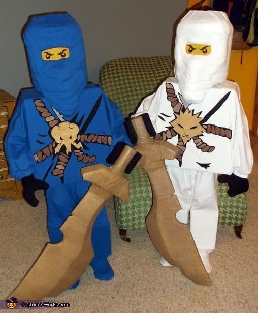 fantasia irmãos Ninjago