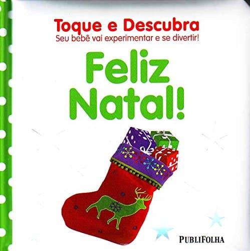 Histórias de Natal livro Toque e Descubra