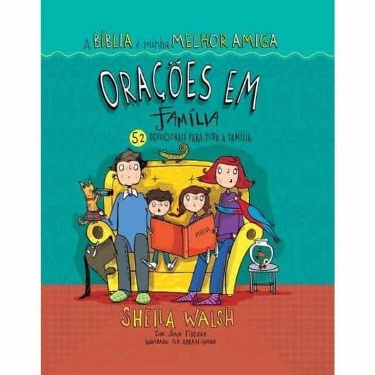 Livro infantil evangélico Orações em Família