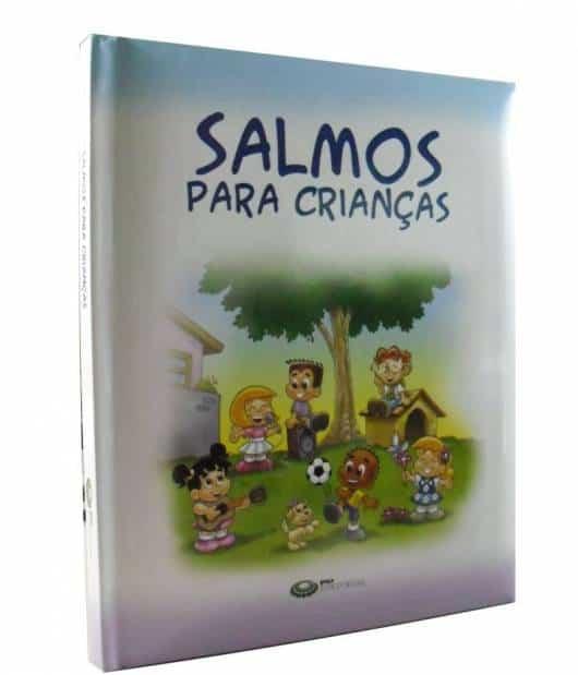 Livro infantil evangélico salmos