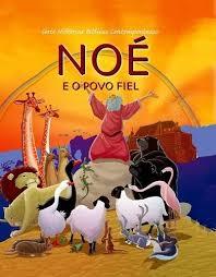 Livro infantil evangélico Noé