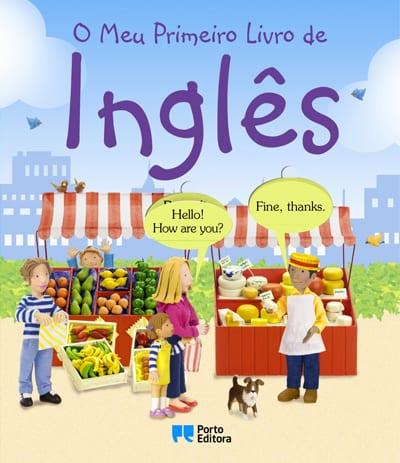 Livro infantil em Inglês O Meu Primeiro Livro de Inglês