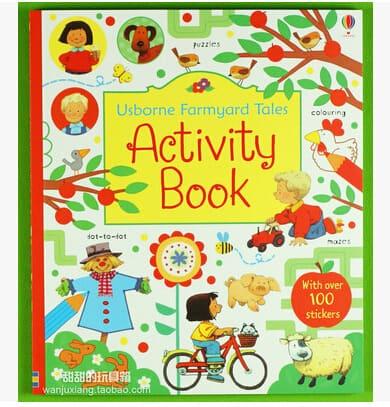Livro infantil em Inglês Livro de Atividades