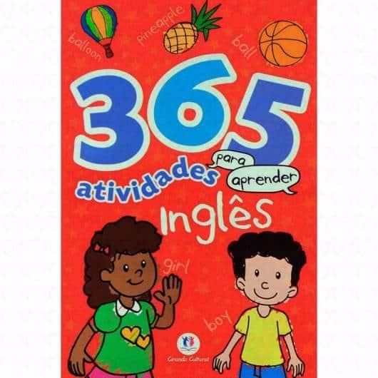 Livro infantil em Inglês 365 Atividades para Aprender Inglês