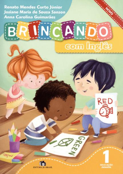 Livro infantil em Inglês Brincando com Inglês