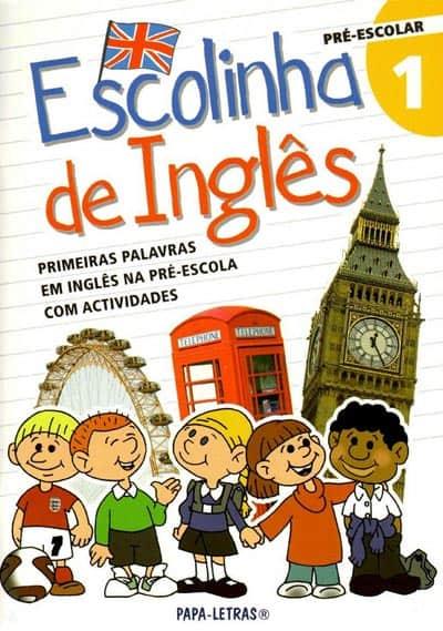 Livro infantil em Inglês Escolinha de Inglês