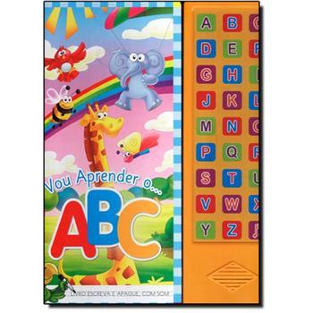 Livro infantil com som Vou Aprender o ABC