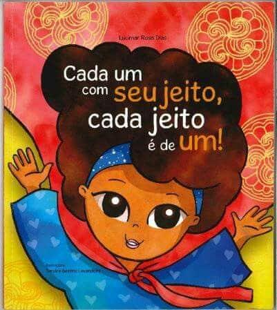 Livro infantil sobre Diversidade Cada Um Com Seu Jeito Cada Jeito é de Um