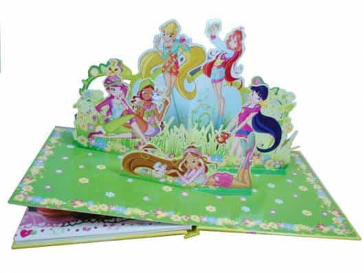Livro infantil 3D Winx Aventuras Mágicas