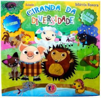Livro infantil sobre Diversidade Ciranda da Diversidade