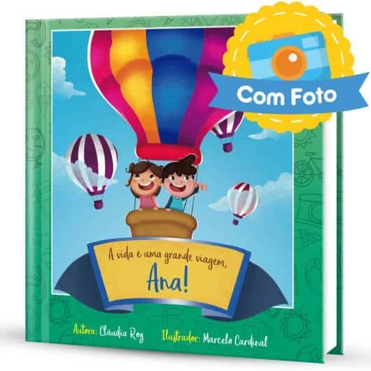 Livro infantil Personalizado com fotos