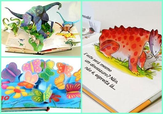 Livro Infantil em 3D