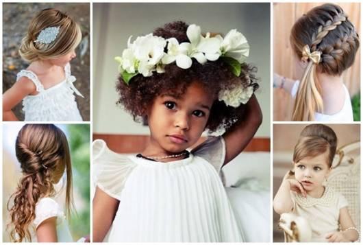 Penteado Infantil Para Festa 48 Ideias Adoráveis Passo A