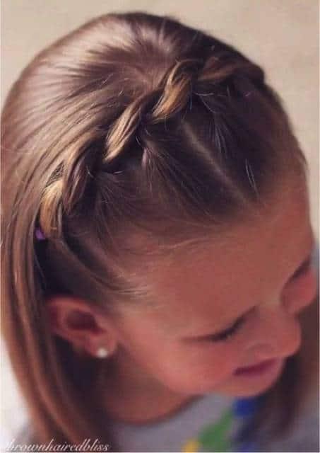 cabelo curto e liso