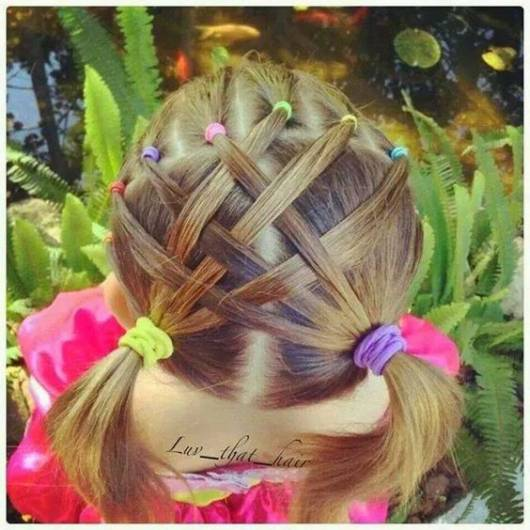 penteado criativo festa junina