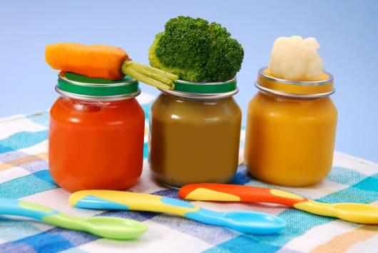 alimentos naturais para bebês