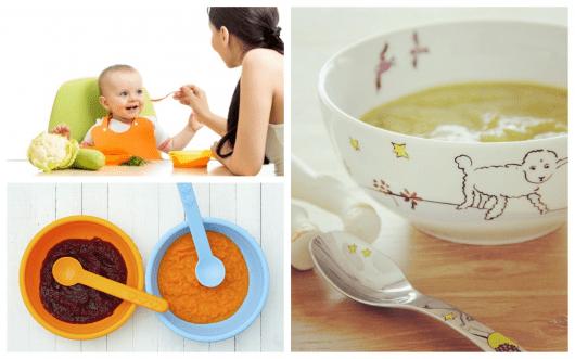 Receitas incríveis de sopas para bebês