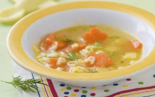 Recetas de sopas para bebes de 6 meses