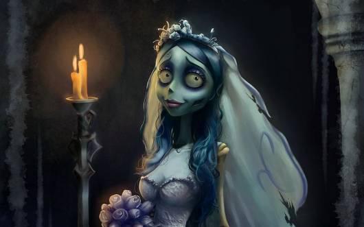 Filme de Halloween Infantil noiva cadaver