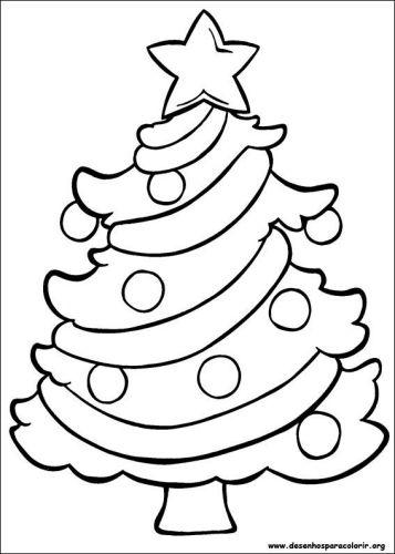 50 Arvores De Natal Para Colorir Imprimir Gratis Para As Criancas