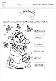 Atividades de Natal para Ensino Fundamental com a Magali