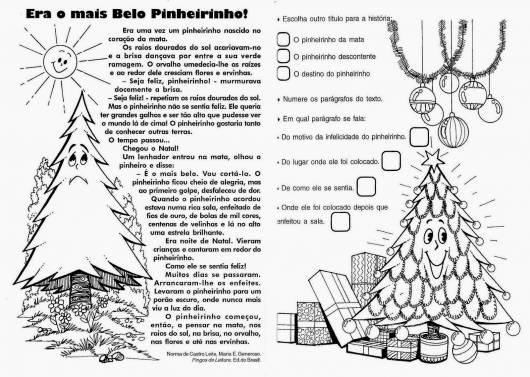 Atividades de Natal para Ensino Fundamental