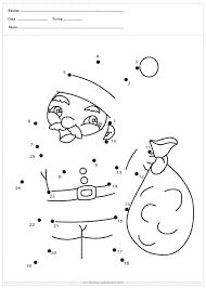 Atividades de Natal para Ensino Fundamental de ligar pontos
