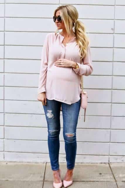 look bata rosa