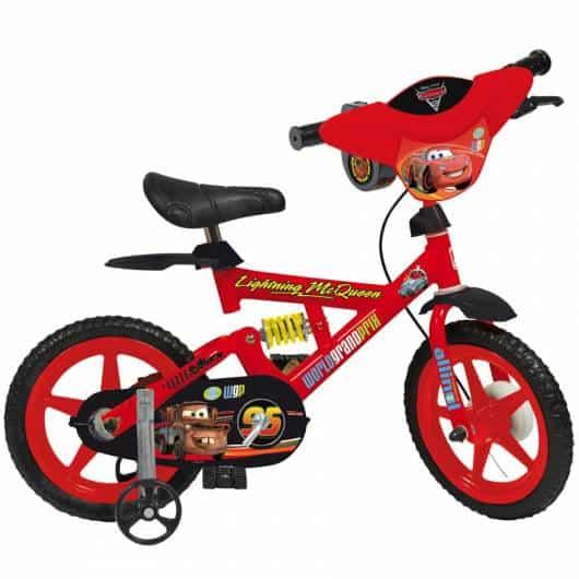 bicicleta de rodinhas Carros