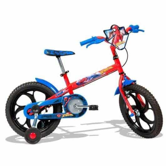 bicicleta Homem Aranha