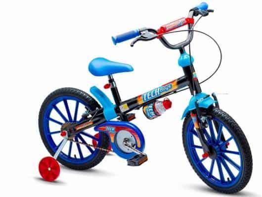 bicicleta com rodinha simples